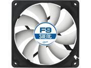 ARCTIC COOLING F9 Silent 92mm Silent Ultra Quiet Case fan