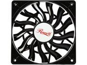 Rosewill 120mm Computer Case Fan Case Cooling Fan Ultra Slim 15mm in Thickness with PWM Pulse Width Modulation Speed Control Long Life Sleeve Bearing; Mod