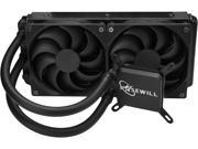 Rosewill CPU Liquid Cooler, Closed Loop PC Water Cooling, Quiet Dual 120mm PWM Fans, Intel LGA 2011/2066/1366/1150/1151/1155/1156/775, AMD AM4/AM3+/AM3/AM2+/AM2