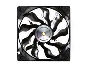 Xigmatek XAF-F1254 120MM Fan with Copper Bushing Axis Black Blade White LED - 8.99