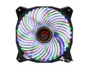 LEPA Casino 4C (LPVC4C12P) 120mm 4 colors (Blue, red, green, white) LED Case Fan