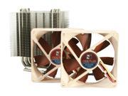 Only $54.99 for Type: Fan & Heatsinks RPM: 1000 - 1600RPM Air Flow: 24.2 - 37.87 CFM Noise Level: 7.9 dBA - 17.6 dBA Heatsink Material: Copper (base and heat-pipes) aluminium (cooling fins) soldered joints & nickel plating Compatibility: Intel LGA1366 LGA1156 LGA775 AMD AM2 AM2+ AM3 (backplate required) Fan Dimensions: 92 x 92 x 25mm Weight: without fan: 460 g with 1 fan: 550 g with 2 fan: 640 g. SKU N82E16835608016 in the CPU Cooling category.