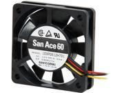 Image of 1ST PC CORP. 109P0612H701 San Ace 60 x 15mm cooling fan