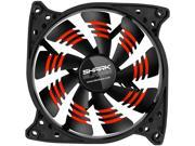 Sharkoon 000SKBR 120mm Shark Blade 120mm Cooling Case Fan – Red