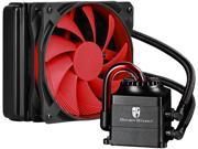 DEEPCOOL Gamer Storm CAPTAIN 120 CPU Liquid Cooler AIO Water Cooling Ceramic Bearing Pump Visual Liquid Flow with120mm FDB PWM Fan Rubber Coating Deep Silent Support LGA 2011-v3