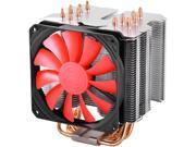 DEEPCOOL Gamer Storm Lucifer K2 CPU Cooler 6 Heatpipes 120mm Slim and Silent PWM Fan