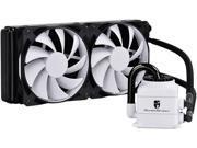 DEEPCOOL Gamer Storm CAPTAIN 240 WHTE CPU Liquid Cooler AIO Water Cooling ...