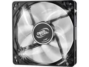 DEEPCOOL WIND BLADE 120 Hydro Bearing Semi transparent Black Fan with White LED