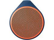 Logitech X100 Speaker System - Wireless Speaker(s) - Orange