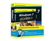 Windows 7 For Dummies Book + DVD Bundle Andy Rathbone