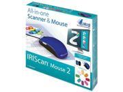 IRIS 458124 can Mouse Portable Scanner Black/Blue
