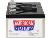 "ABC RBC 8 Battery Type: Battery Compatibility: SU1400RM, SU1400RMNET, SU1400RMBX120, SU1400RMX176, SU1400RMX93, SU1400RMBX135, SU1400RMX106 Specifications: 4 Batteries: 12 Volts, 7 Amp-Hours    Tab Size: 0.25 Dimensions: 3.27"" x 10.24"" x 5.94"" (H x W x D) Weight: 23.00lbs Parts: 2 Year Limited"