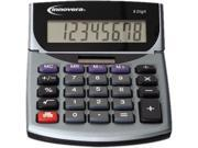 Innovera 15925 15925 Portable Minidesk Calculator, 8-Digit LCD