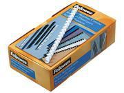 "52372 Fellowes Plastic Comb Bindings, 1/2"" Diameter, 90 Sheet Capacity, White, 100 Combs/Pack"