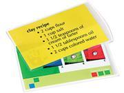 52008 Fellowes Laminating Pouches, 5 mil, 3 1/2 x 5 1/2, Index Card Size, 25/Pack