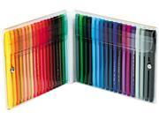 Pentel S360-36 Fine Point Color Pen Set, 36 Assorted Colors, 36/Set