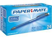 Paper Mate 74405 Write Bros Mechanical Pencil, 0.70 mm, Assorted, 24 per Pack