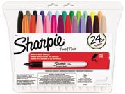 Sharpie 75846 Permanent Markers Fine Point Assorted 24 Set