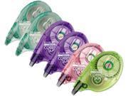 Tombow Mono 68670 MONO Correction Tape Assorted Retro Color Dispensers 1 6 x 394 6 Box