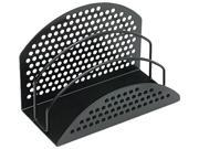 Fellowes 22311 Perf-Ect Mini Sorter, Three Sections, Metal/Wire, 7 x 3 1/2 x 4 7/8, Black