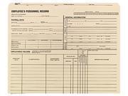 Quality Park 69999 Employee Record Jackets, 11 3/4 x 9 1/2, 11 Point Manila, 100/Box