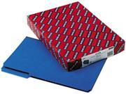 Smead 22541 Recycled Folders, One Inch Expansion, 1/3 Top Tab, Legal, Dark Blue, 25/Box