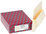 Smead                                    5 1/4 Inch Expansion Straight Tab File Pockets with Tyvek, Legal, Manila, 10/Box