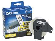 Brother DK-1203 Die-Cut File Folder Labels, 2/3 x 3-7/16, White, 300/Roll