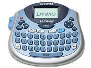 DYMO 1733013 LetraTag Plus Personal Label Maker, 2 Lines, 6-7/10w x 2-4/5d x 5-7/10h