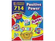 Teacher Created Resources 4225 Sticker Book, Positive Power, 714/Pack