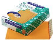 Quality Park 44562 Redi-Strip Catalog Envelope, 9 x 12, Light Brown, 100/Box
