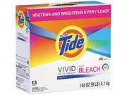 Tide 84998, Laundry Detergent with Bleach, Original Scent, Powder, 144 oz Box