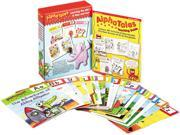 Scholastic 0545067642 Alpha Tales Learning Library Set, Grades K-1, Softcover, 128 Pages