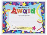 Certificates of Award, 8-1/2 x 11, 30/Pack