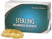 Alliance 25075 Sterling Ergonomically Correct Rubber Bands, #107, 7 x 5/8, 50 Bands/1lb Box