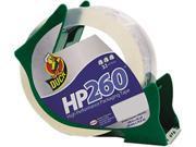Duck 07364 Carton Sealing Tape w/Reusable Dispenser, 1.88
