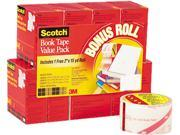 Scotch 845 VP Book Repair Tape 8 Roll Multi Pack 15 yard Rolls 3 Core