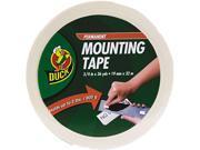 Duck 1289275 Permanent Foam Mounting Tape, 3/4
