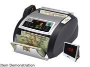Royal Sovereign RBC-2100 Elect. Bill Ctr w/Counterfeit Detection,1000 Bills/Min., 13x91/2x7 9/10, BK/SR