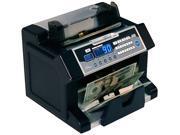 Royal Sovereign RBC-3100 Elect Bill Ctr w/Counterfeit Detection, 1200 Bills/Min.,10 1/5x91/2x81/2,BK/SR