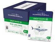 Hammermill 86780 Great White 50 Recycled Copy Paper