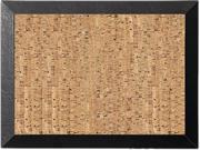 Bi-Silque SF0722581012 Mastervision Natural Cork Bulletin Board, 24x36, Cork/Black