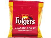 Folgers 2550006430 Fractional Pack, Classic Roast, 1.5oz. 42 Per Carton