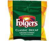Folgers 2550006433 Fractional Pack, Classic Roast Decaffeinated, 1.5 oz, 42 per Carton