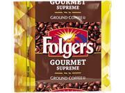 Folgers 2550006437 Gourmet Supreme Ground Coffee Regular Dark Bold Ground 42 Carton