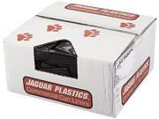 Jaguar Plastics JAG R4046H 40w x 46h, Black Repro Low-Density Can Liners
