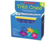 Scholastic 00078073074723 Trait Crate, Grade 2, Six Books, Learning Guide, CD, More