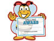 Southworth MAK6 Motivations Spelling Bee Certificate Award Kit and Holder, 8.5 X 5.5, 10/pk