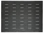 Guardian 34030401 Free Flow Comfort Utility Floor Mat, 36 x 48, Black