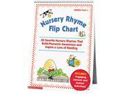 Scholastic 0439513820 Nursery Rhyme Flip Chart, Grades PreK-1, 20 Pages 9B-48-991-323